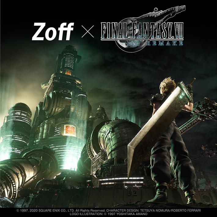 【Zoff】Zoff SMART FINAL FANTASY Ⅶ REMAKE Model