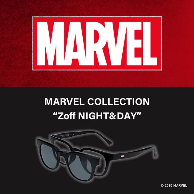 """【Zoff】MARVEL COLLECTION """"Zoff NIGHT&DAY""""(マーベルコレクション ゾフ・ナイトアンドデイ)"""